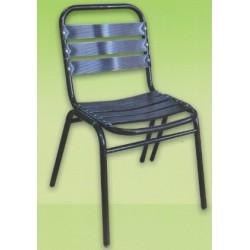 Ametis Boyalı Kolsuz Alüminyum Sandalye