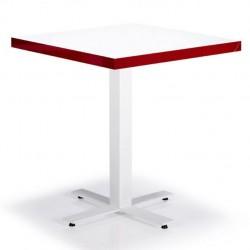 Boyalı Kare Swiss Ayaklı Melamin cafe Masası 70 x70