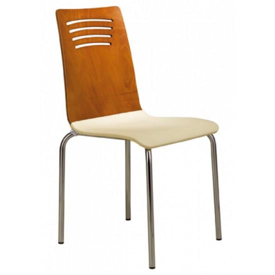 Çizgili Monoblok Sandalye