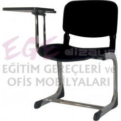 EKS-0111 FORM SEMİNER SANDALYESİ-KROMAJLI