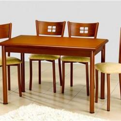 Didim Elektrostatik Boyalı Metal Mutfak Masası