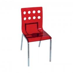 Kırmızı estetik sandalye S-471A