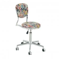 Döşemeli ofis sandalyesi S-461