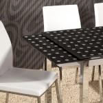 Cam Yemek Masası