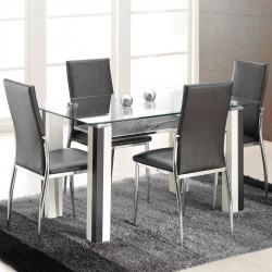 Domino Sandalyeli Yemek Masası