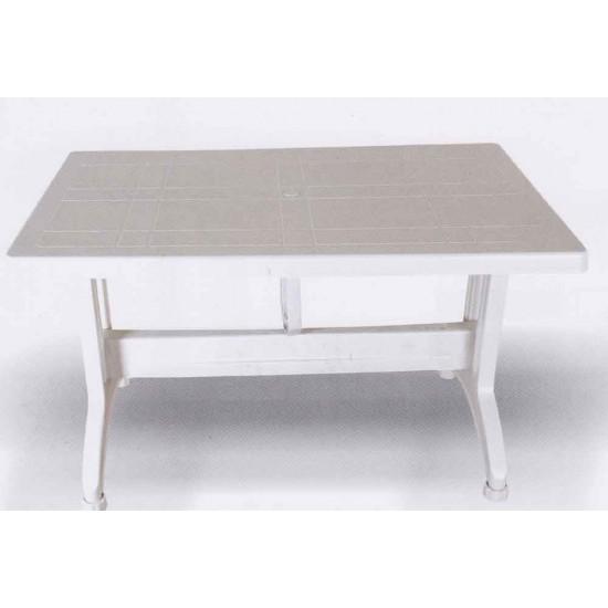 80x140 Plastik Ayaklı Plastik Masa