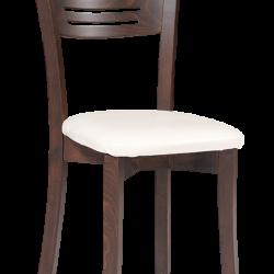 Çizgili Ahşap Sandalye