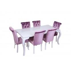 Hilton Beyaz Masa Takımı