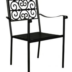 Ferforje Sandalye Metal Oturak