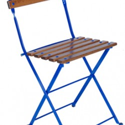 Katlanir Sandalye İroko Ahşap 5503